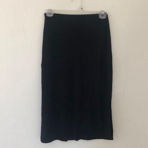 Side opening skirt